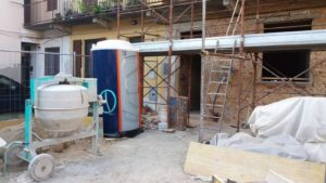Noleggio bagni chimici per cantieri